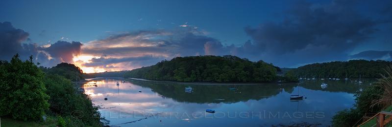 Sunrise at Malpas - Panoramic images