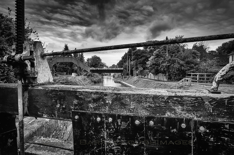 Canal Trip - Landscapes in monochrome