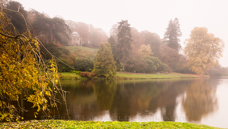 Stourhead in the Mist 2 - Landscapes in colour