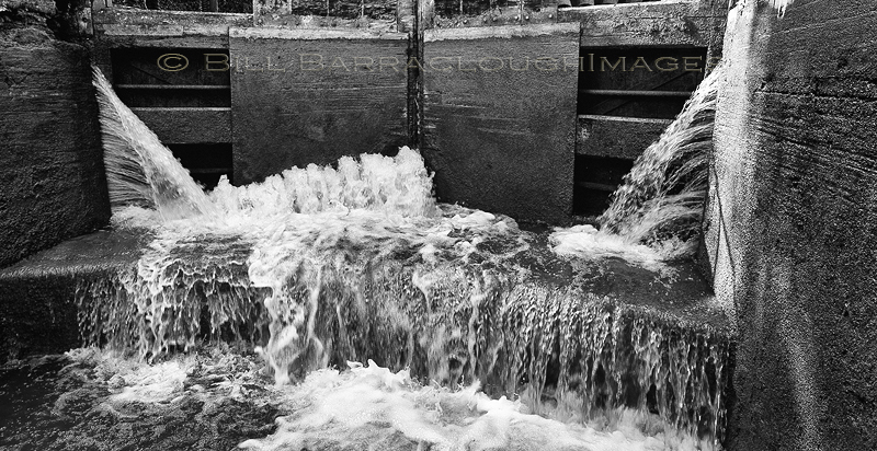Lock Gates - Landscapes in monochrome