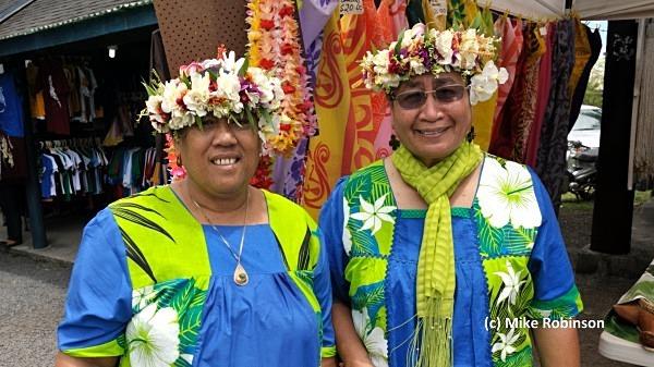 Punanga Nui Mark_107 sisters - Rarotonga, Cook Islands