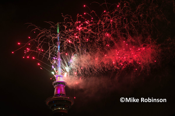 NYE2015 Auckland_1019_Sky Tower_ - North Island, New Zealand
