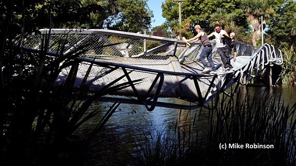 Quake damage_44_Bridge Avon R - South Island, New Zealand