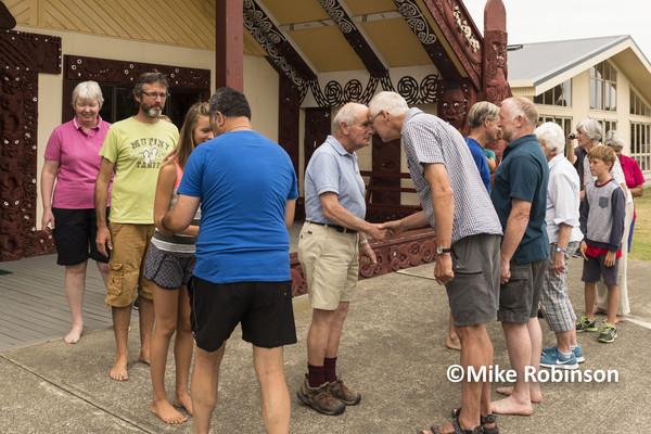 RCC Nelson Meet_13_hongi at marae - South Island, New Zealand