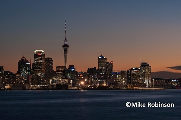 downtownskyline _060Auckland pm - North Island, New Zealand