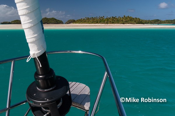 Views from SR_51_Fulaga lagoon _ - Sea Rover – 2008 Oyster 46 for sale