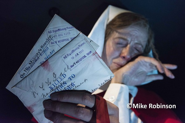 Gallipoli TePapa_1155_Nurse  letters - North Island, New Zealand