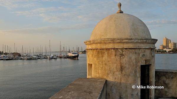 Club de Pesca_003 Cartagena walls - Cartagena, Columbia