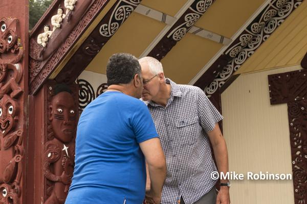 RCC Nelson Meet_10_hongi at marae - South Island, New Zealand