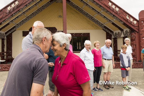 RCC Nelson Meet_17_hongi at marae - South Island, New Zealand