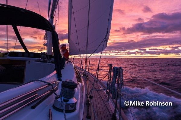 Dawn sailing_26_second full day - Sea Rover – 2008 Oyster 46 for sale