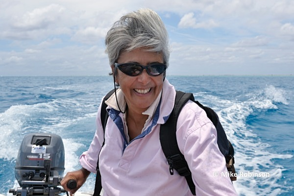 reef walk_489 dinghy - Minerva Reef