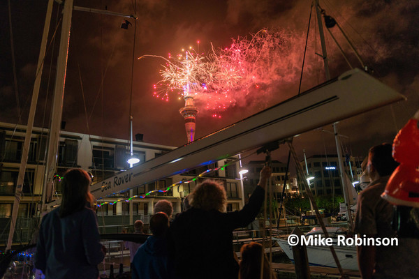 NYE2015 Auckland_1033_Sky Tower_ - North Island, New Zealand