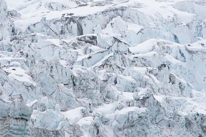 Glacier patterns - Svalbard