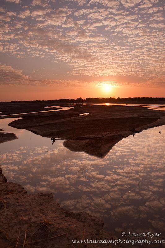 Luangwa River sunrise