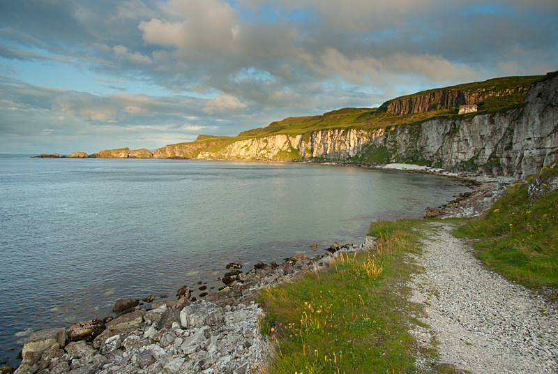 Carrick-a-Rede from Larrybane (09071331) - County Antrim