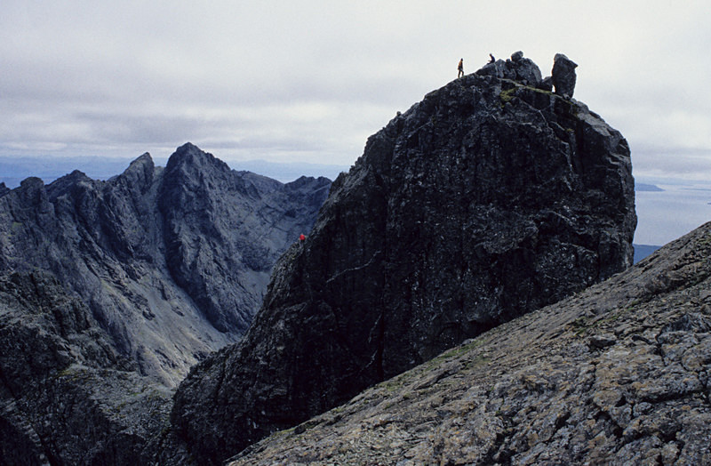 The Inaccessible Pinnacle, Isle of Skye - Highlands