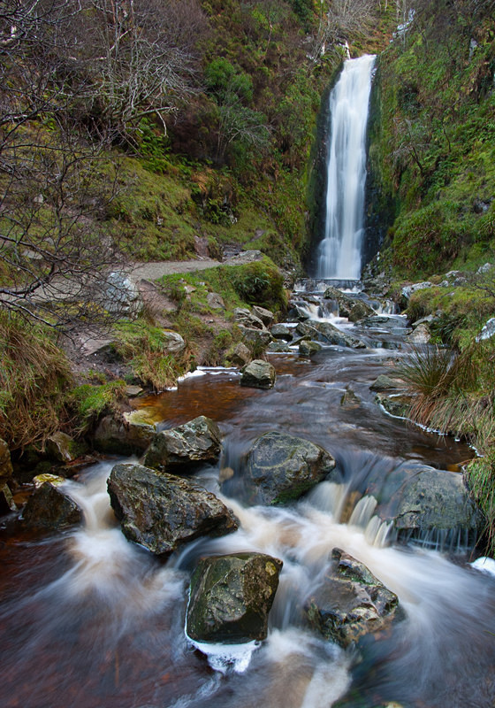 Glenelvin Waterfall (06122560) - County Donegal