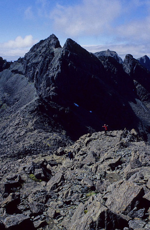 Sgurr Alasdair from the South, Isle of Skye - Highlands