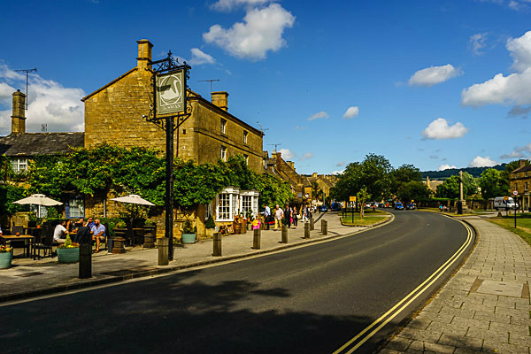 Broadway main street - The Cotswolds