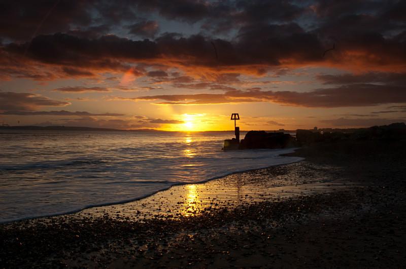 Sunset - Hengistbury Head, Dorset