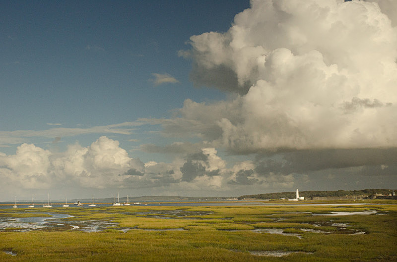 - Keyhaven on a Stormy Day