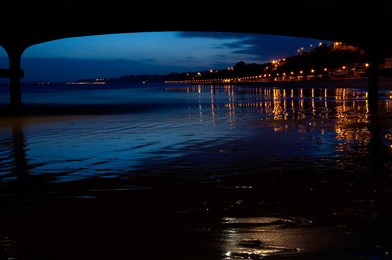 Bournemouth Seafront at low tide - Bournemouth