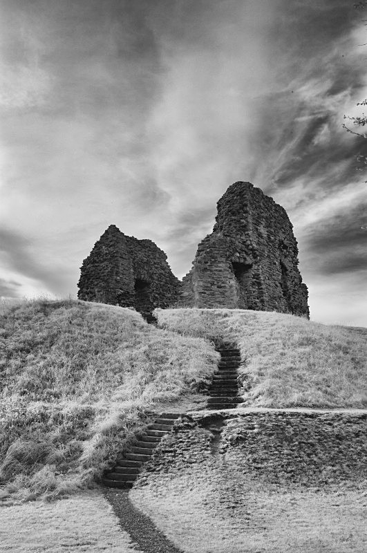 Christchurch Ruin - Infrared - Infrared Photography