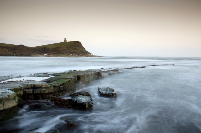 An Evening at Kimmeridge - Swanage Pier