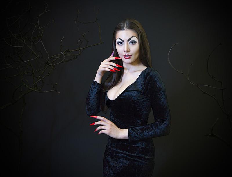 IMG_3411 final edit 5  - VAMPIRA (actress Maila Nurmi)
