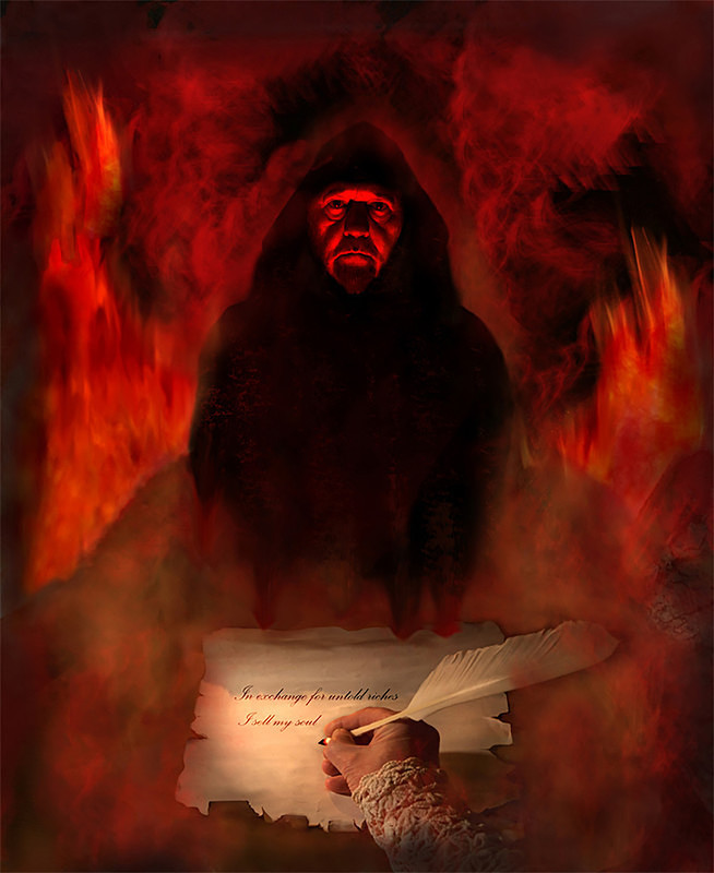 Selling My Soul - PHOTOSHOP CREATIONS