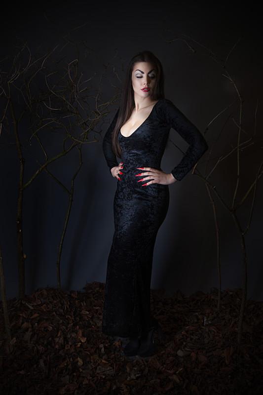 IMG_3438 edited final  - VAMPIRA (actress Maila Nurmi)