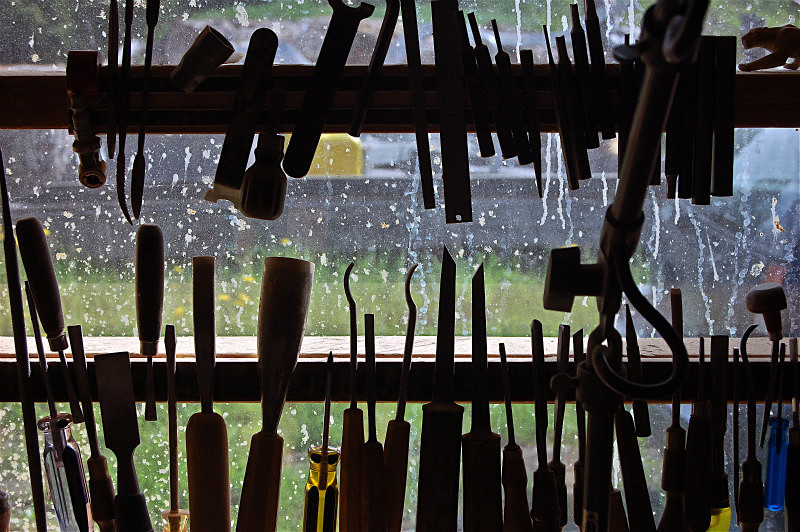 Woodcarver's Window - Diverse