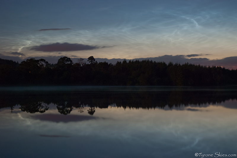 NLC Reflections - Noctilucent Clouds