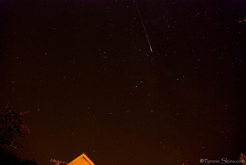 Perseid meteor - Meteors