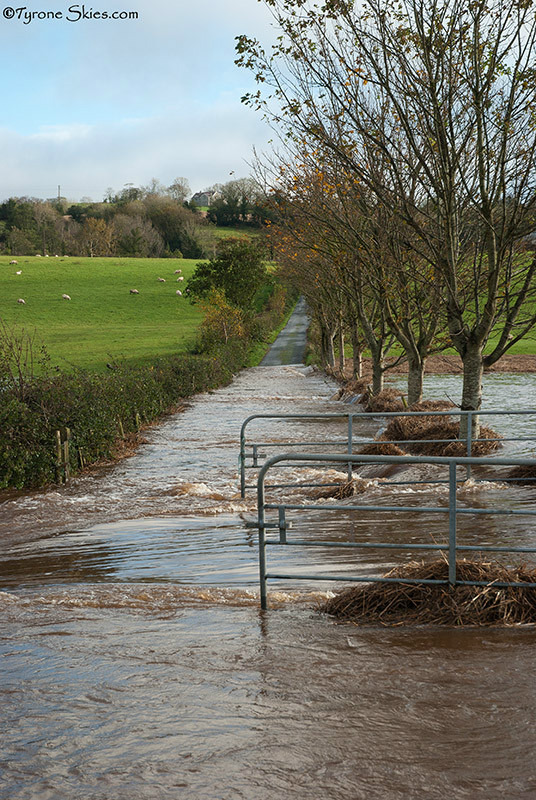 Road closed - Floods