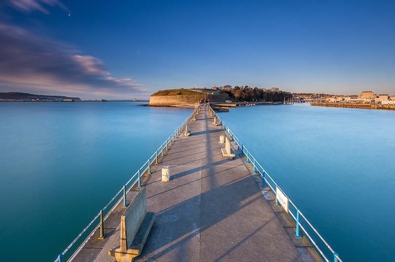 Stone Pier, Weymouth, Dorset - Dorset Seascapes