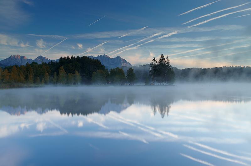Lake Schwarzee, Kitzbuhel, Austria - European Scenes
