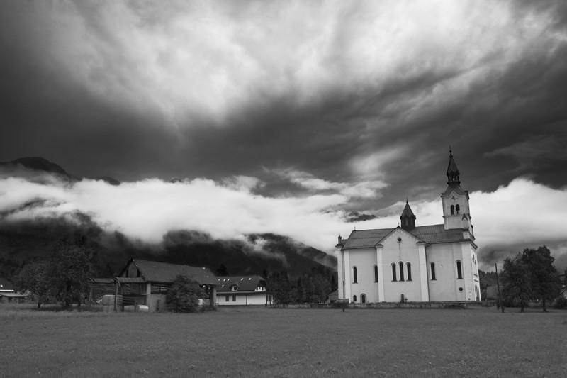 Bohinja Bistrica, Slovenia -  Alpine Storm - European Scenes