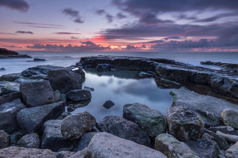 Dawn at Portland Bill, Dorset - Dorset Seascapes