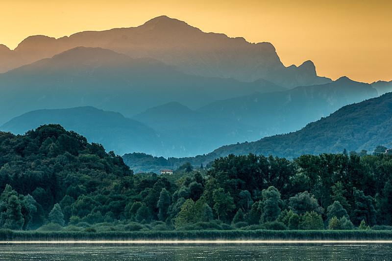 Laguna di Piano, Italy - European Scenes