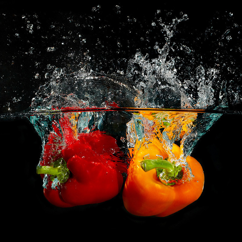 A Splash of Pepper (Square version) - Creative Studio & Fine Art