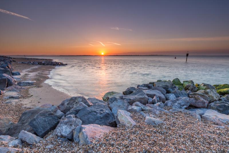 Eastoke Sunrise, Hayling Island - Hayling Island Area