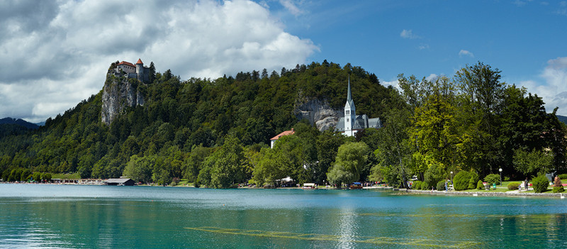 Lake Bled, Slovenia -  Panorama - European Scenes