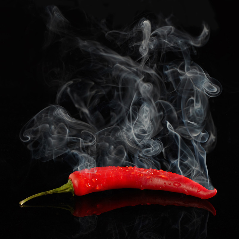 Red Hot Chilli Pepper (Square Version) - Creative Studio & Fine Art