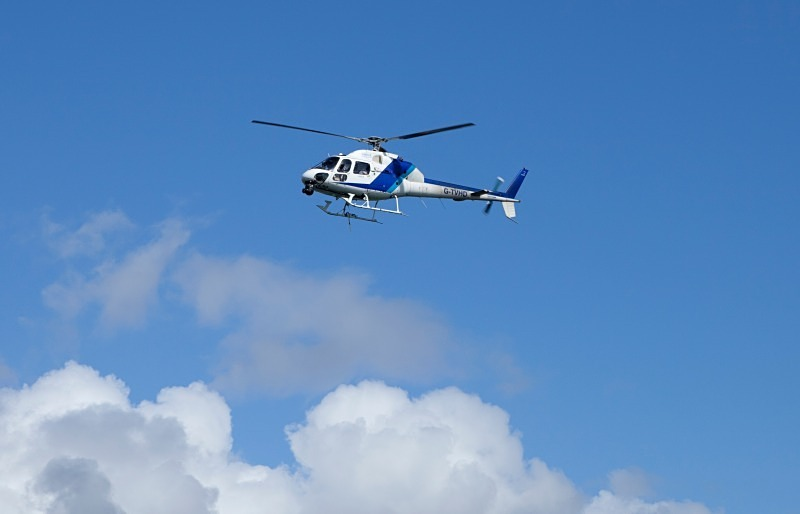 Helicopter - Reportage