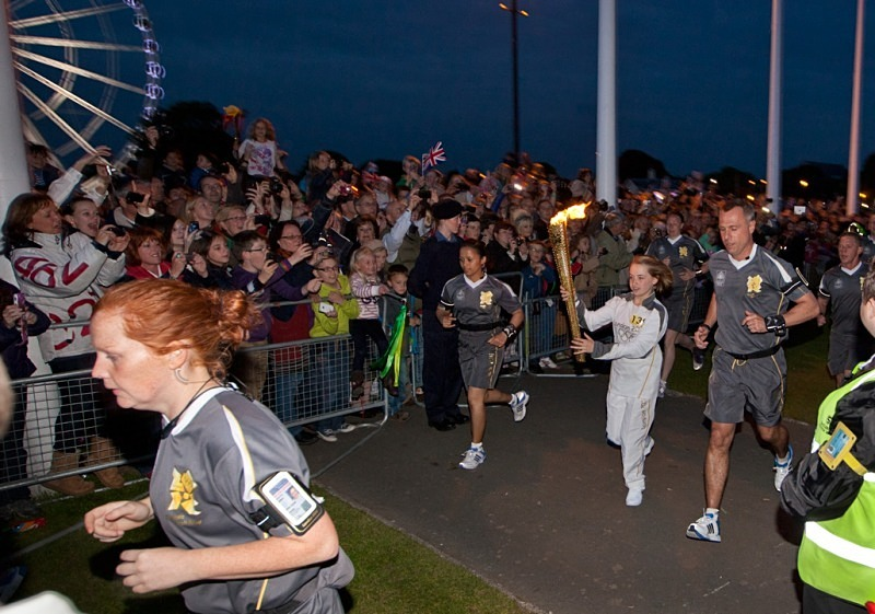 Olympic Torch - Reportage