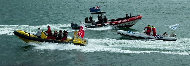 America's Cup Speedboats - Sports