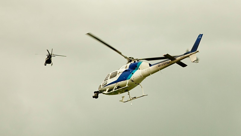 Helicopters - Reportage