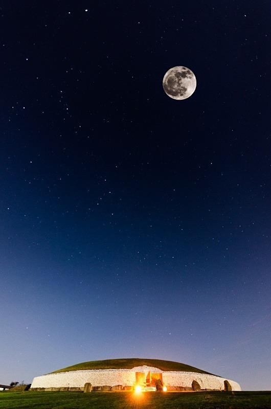 Newgrange: Moon & Stars - Co. Meath